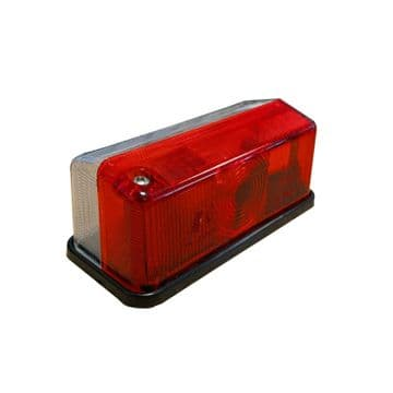 10 x TRUCK + TRAILER MARKER LIGHTS (TR020RC) RED + CLEAR LENS E4 approval